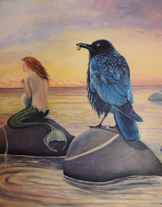 Possessions - Painting by Cara Baird